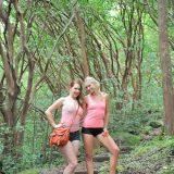 zwei sexy fkk teens machen wandertrip im heimischen wald picture 3
